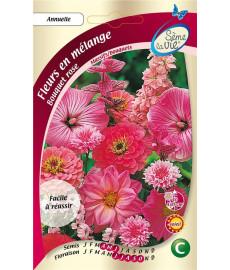 Graines de fleurs pour bouquet rose