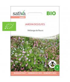 Mélange fleurs jardin des elfes graines bio