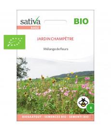 """Graines bio en mélange de fleurs """"Jardin Champêtre"""""""