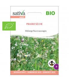 Graines bio en mélange de fleurs pour prairie sèche