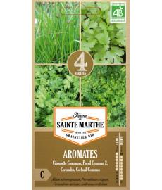 Mélange de graines bio d'aromatiques
